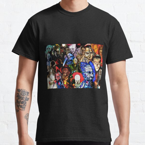 Collage Of Horror Classic T-Shirt
