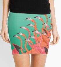 Fresko der Flamingos Minirock