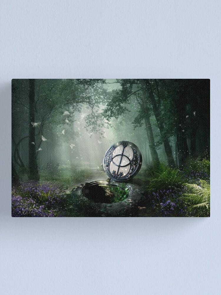 Alternate view of Chalice Well Canvas Print