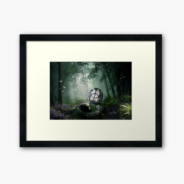 Chalice Well Framed Art Print