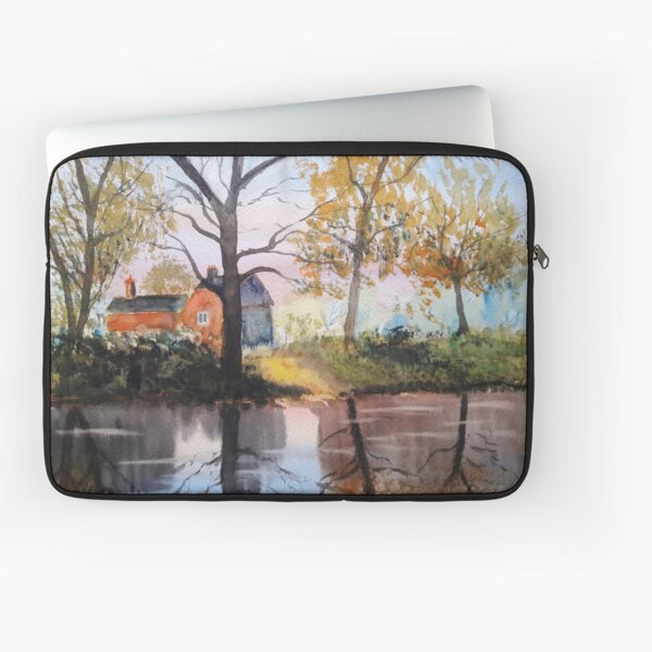 The red house Laptop Sleeve