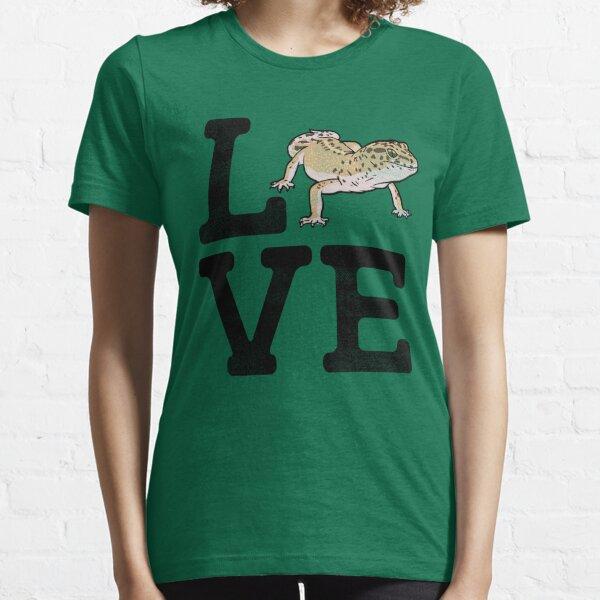 Leopard Gecko Love Reptile Herping Essential T-Shirt