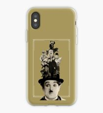 Charlie Chaplin - Comedy Stars Of The Silent  Screen iPhone Case