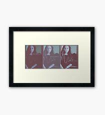 Flaw in Beauty Framed Print