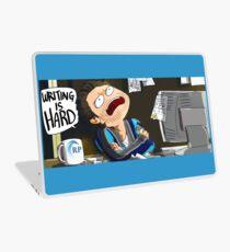 WRITING IS HARD Laptop Skin