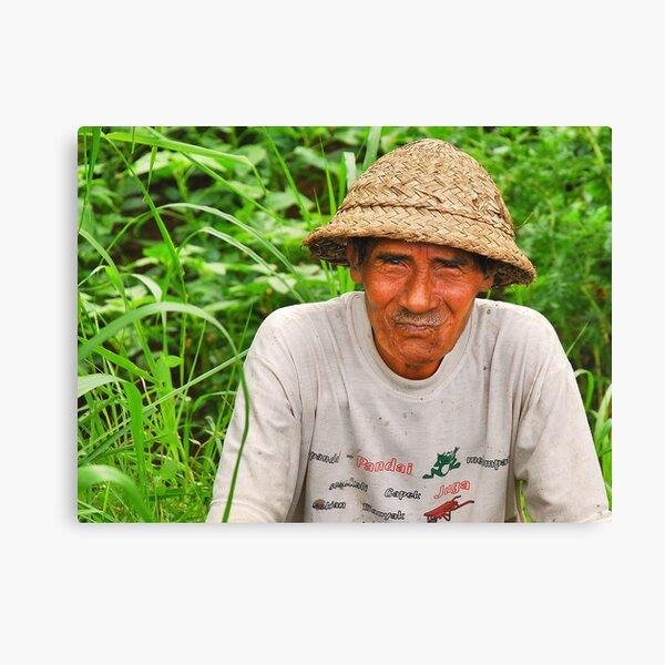 People of Bali 4 Canvas Print