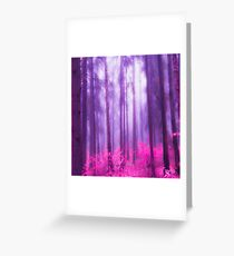 Fairytale #pink Greeting Card