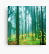 Fairytale #green Canvas Print