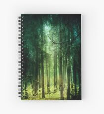 Enchanted Spiral Notebook