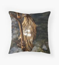 Shining in life Throw Pillow