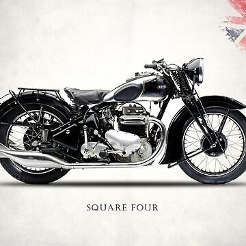 Ariel Square Four 1939 by rogue-design