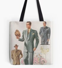 1940s suit fashions Tote Bag