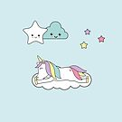 Sweet sleeping unicorn by grafart