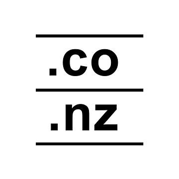 .co.nz New Zealand Internet Country Code design by GetItGiftIt