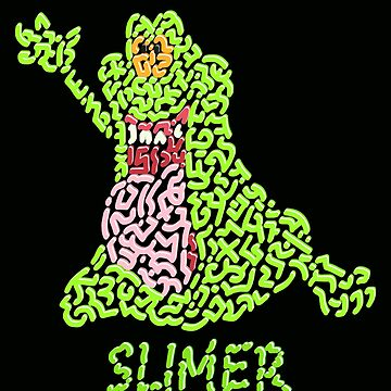 Slimer in Ghostbusters by Karotene
