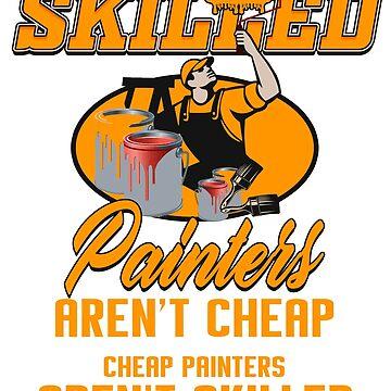 Painter master painter paint roller brush colour brushwork gift by design2try