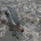 WW I Air Combat 18 by AH-Aviation-Art