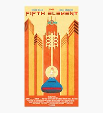 Fifth Element Poster Photographic Print