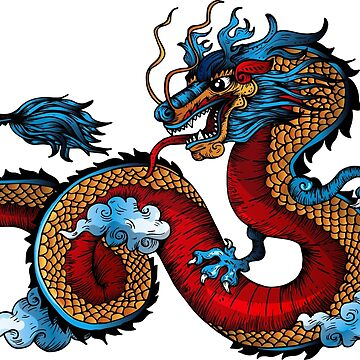 Chinese dragon by MacOne