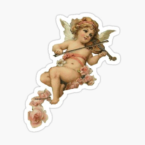 cherub girl Sticker