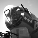 B17 Nose In The Air Black&White by James Watson