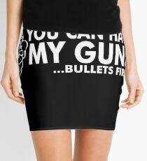 Bullets First Mini Skirt