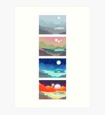 Variaciones sobre un tema Lámina artística