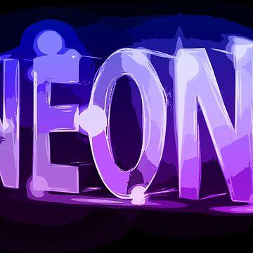 Retro Neon by realmatdesign