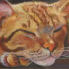 Cat Dreaming by Magaly Burton
