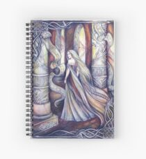 The Noble Lady Spiral Notebook