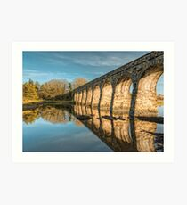 Ballydehob West Cork Ireland Railway Art Print