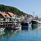 Scarborough Harbour, UK by John (Mike)  Dobson
