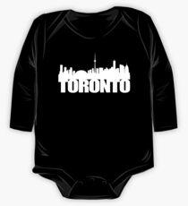 Toronto Skyline white One Piece - Long Sleeve