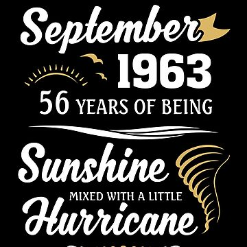September 1963 Sunshine Mixed With A Little Hurricane by lavatarnt