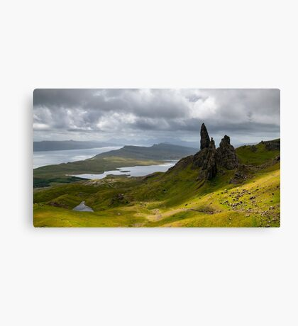Old Man of Storr - Scotland Canvas Print