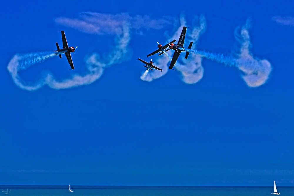 Crazy Flying Aces at Airbourne, Eastbourne by Chris Lord