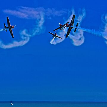 Crazy Flying Aces at Airbourne, Eastbourne by ChrisLord