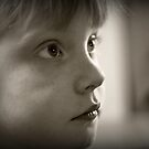 Portrait of my daughter by Mick Smith