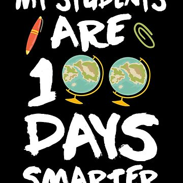 100 Days Of School Teacher's T-shirt by KsuAnn