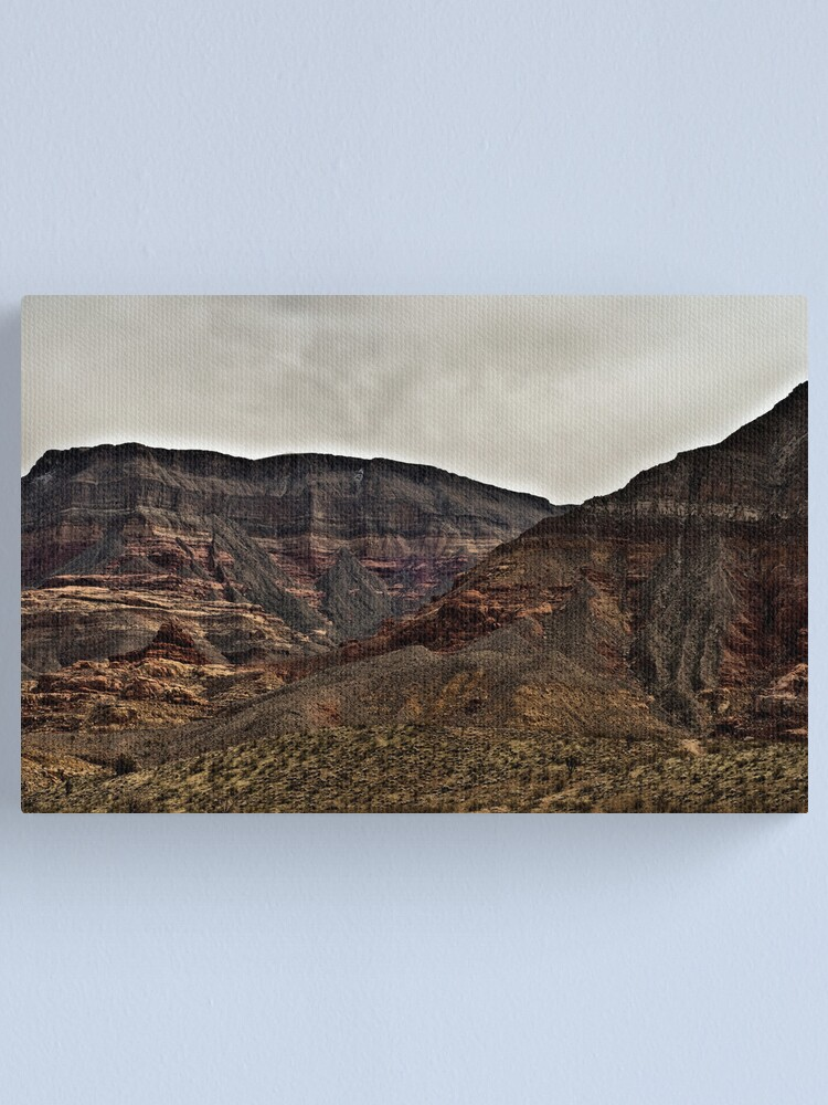 Alternate view of Virgin River Canyon Canvas Print