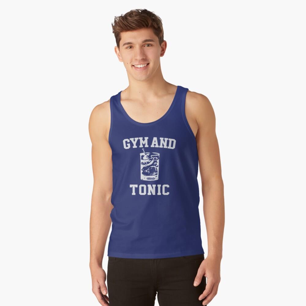 Macs Gym And Tonic T Shirt Tank Top