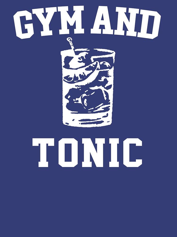 Macs Gym And Tonic T Shirt by thegrays