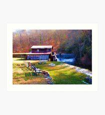 Skeenah Creek Mill Art Print