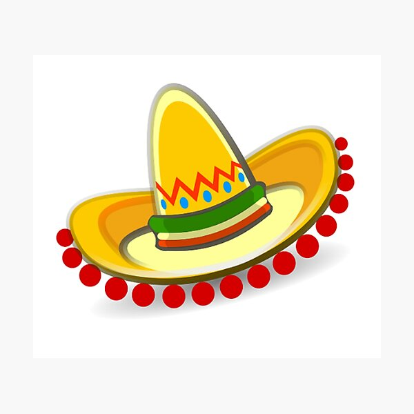 Sombrero. Mexican hat. Mexico. Photographic Print