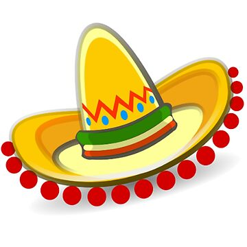 Sombrero, Mexican hat by TOMSREDBUBBLE