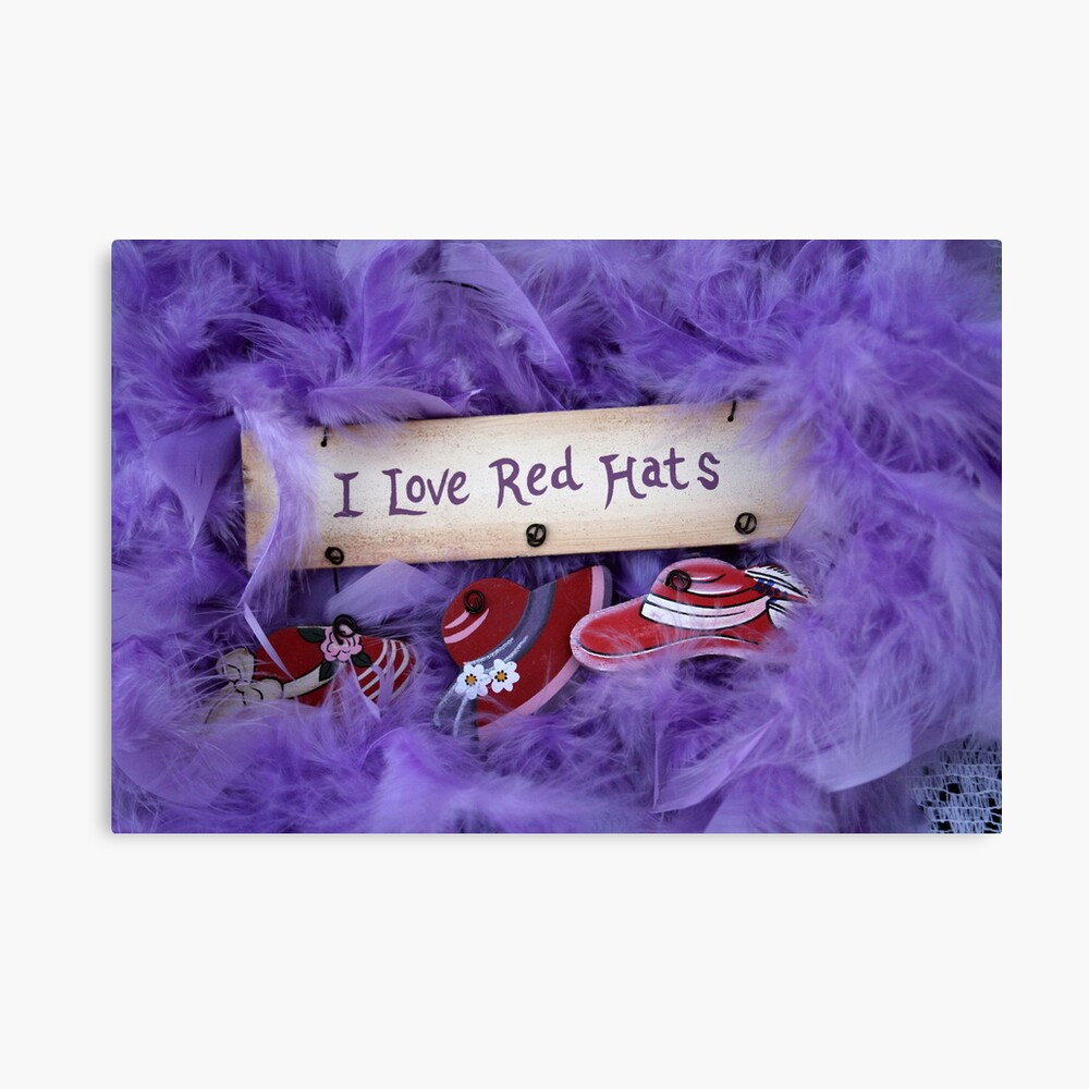 Red Hat Collection 5 Canvas Print