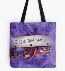 Red Hat Collection 5 Tote Bag