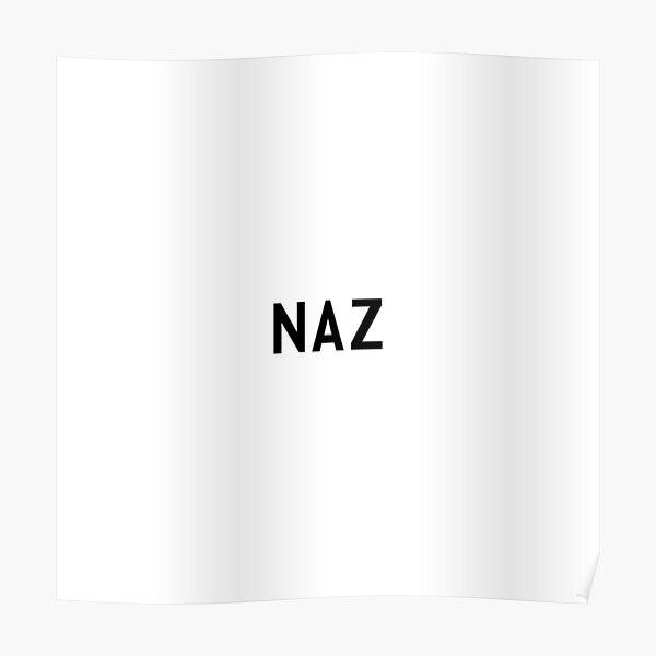 Naz - Untranslatable Urdu Word Poster