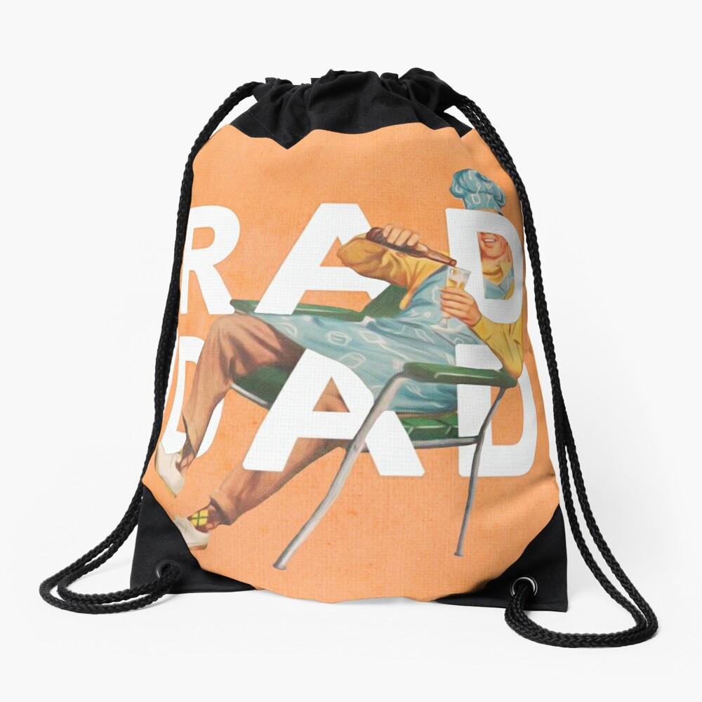 Rad Dad Drawstring Bag