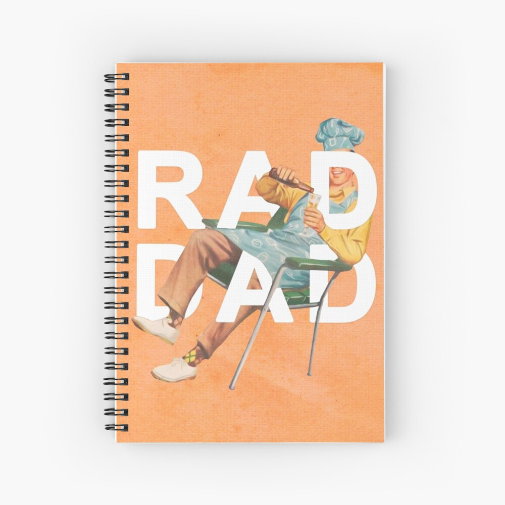 Rad Dad Spiral Notebook